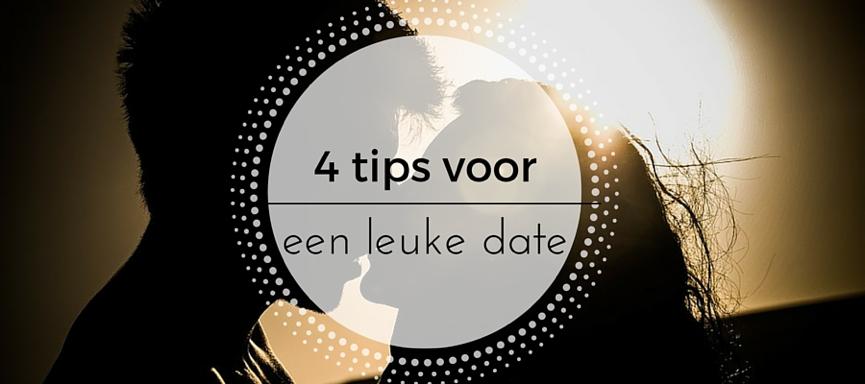 4 tips voor een leuke date