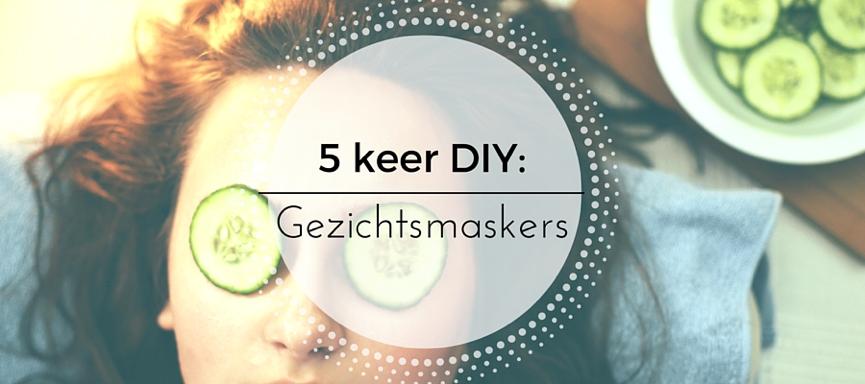 5 keer diy: gezichtsmaskers