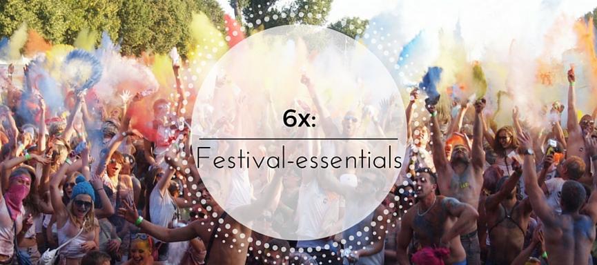 6x: festivalessentials