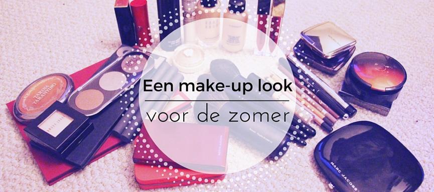 Een make-up look voor in de zomer